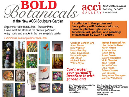 Bold Botanicals at ACCI gallery