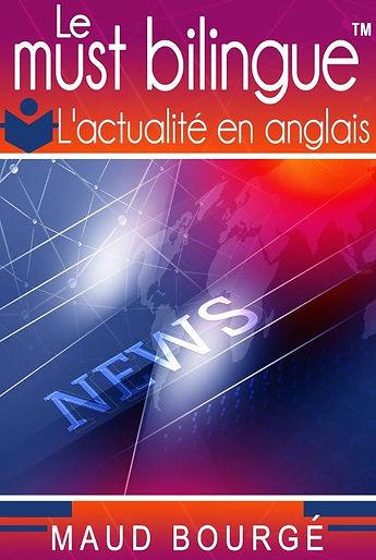 L'actualité_en_anglais | bilingual books by Maud Bourgé