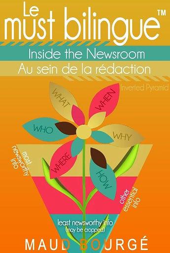 Au_sein_de_la_rédaction | bilingual books by Maud Bourgé
