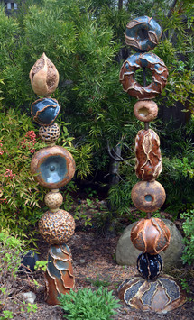 Brown totems