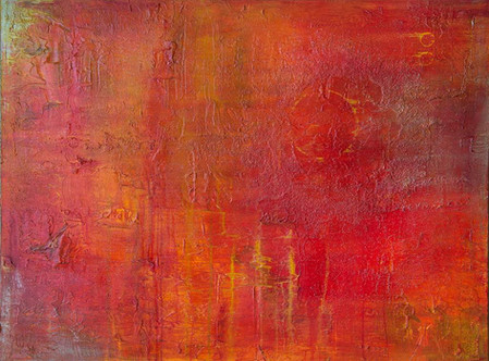 "Red Storm 30""H x 40""W x 1.5""D"