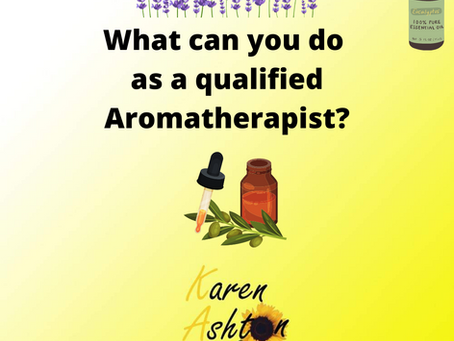 What can you do once qualified as an Aromatherapist?