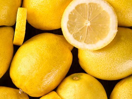 Ginger & Lemon for joint pain