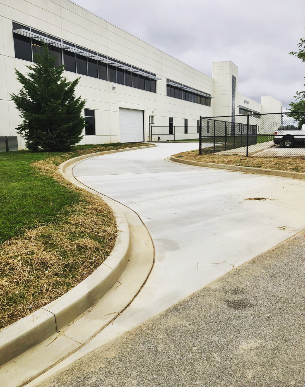 Concrete Driveway Poured