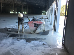 Saw Cutting For Dock Pits