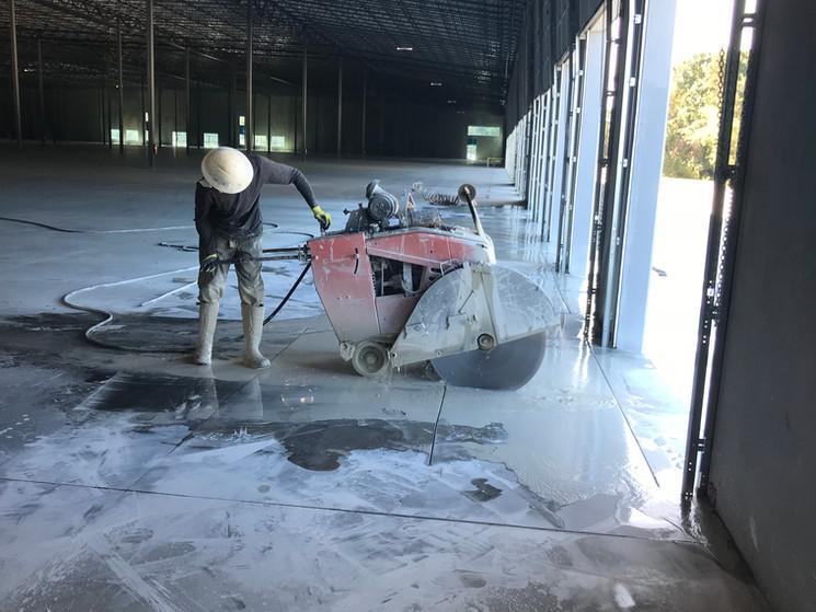 Concrete Slab Sawing