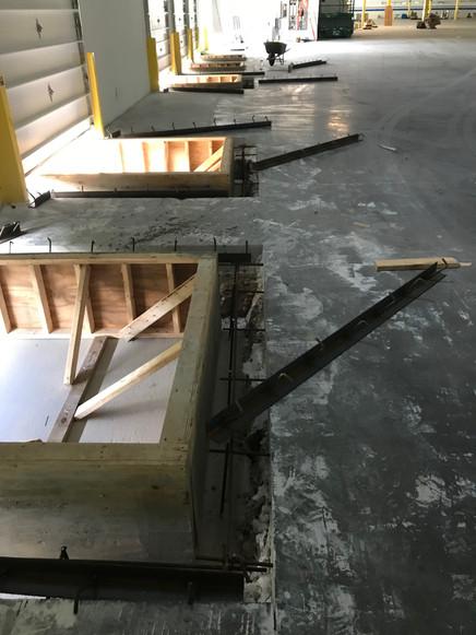 Dock Pit Walls