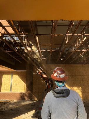 Steel Deck Demolition