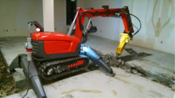 Plumbing Trench Demolition