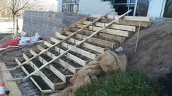 Forming Concrete Stairs