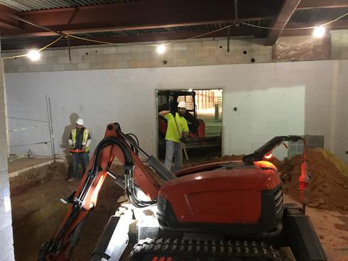 Interior Excavation W/ DXR