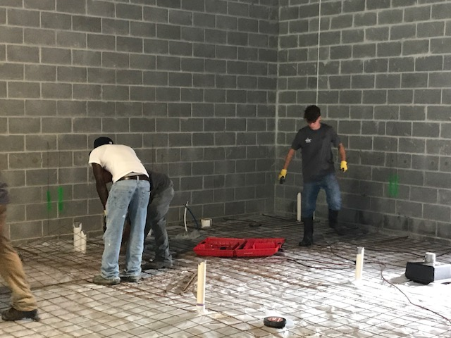 Concrete Slab Prep