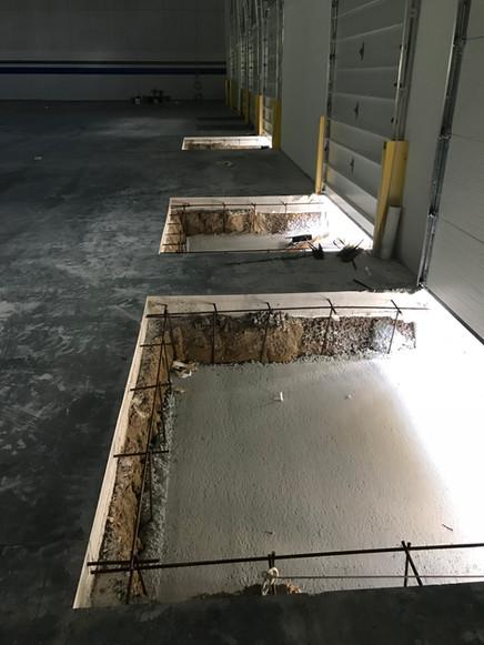 Dock Pit Slab Pour