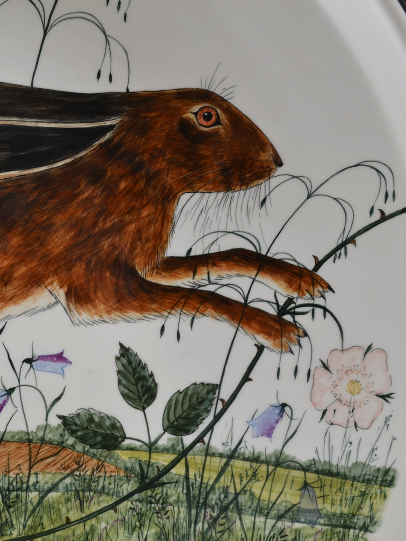Detail from Leaping Hare