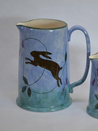 Hare on Blue Design