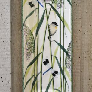 Warbler & Dragonfly Design