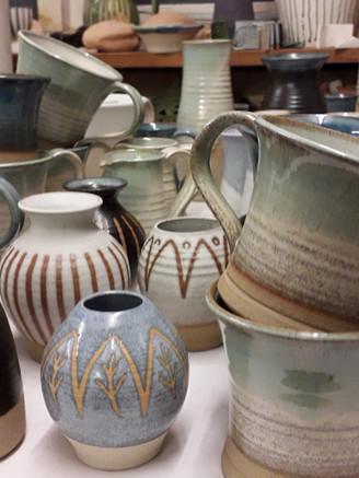 Stoneware Mugs & Vases