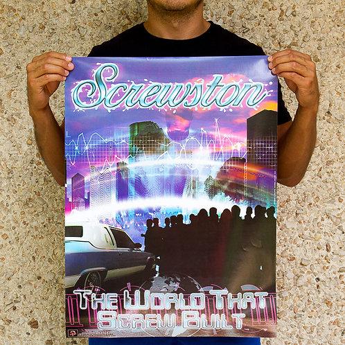 "Screwston ""TWTSB"" Poster"
