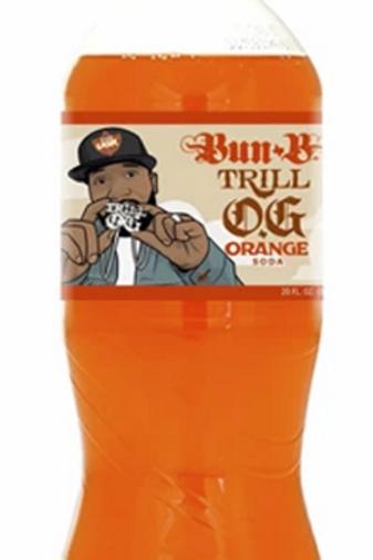 "Exotic Pop Trill OG ""Bun B"" Orange Soda"