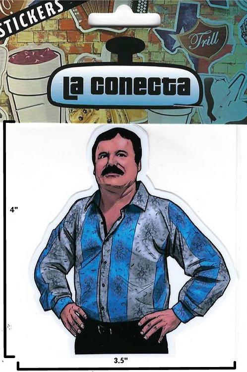 """""""El Chapo"""" (V2) Sticker"""