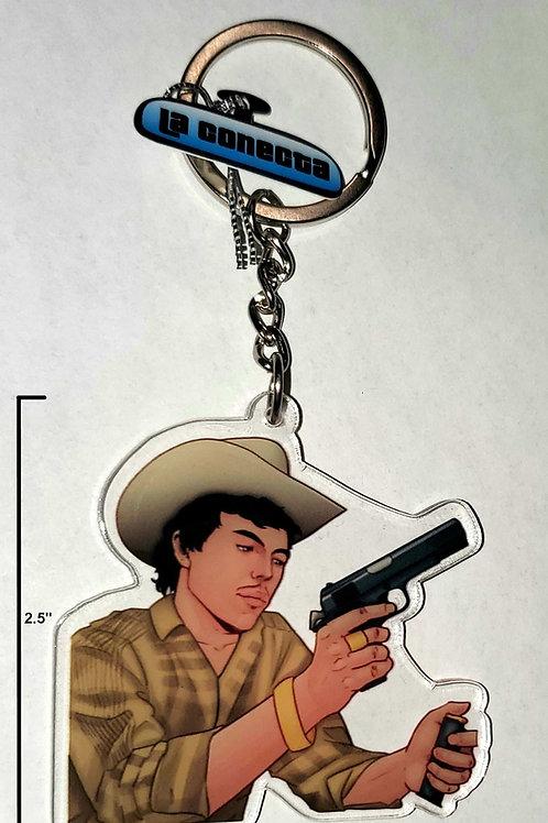 """Chalino"" Sánchez"" Keychain"