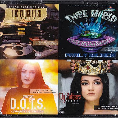 "Dope World Ent. ""The 4 EP Sampler"""