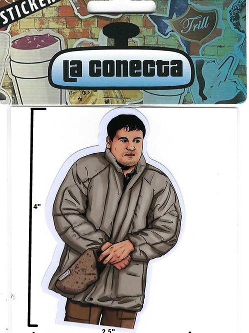 """""""El Chapo"""" (V1) Sticker"""