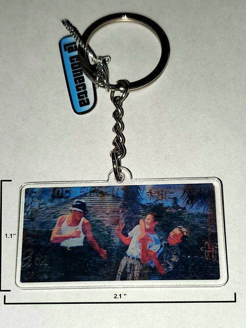 """""""Blood In Blood Out"""" (V3) Keychain"""
