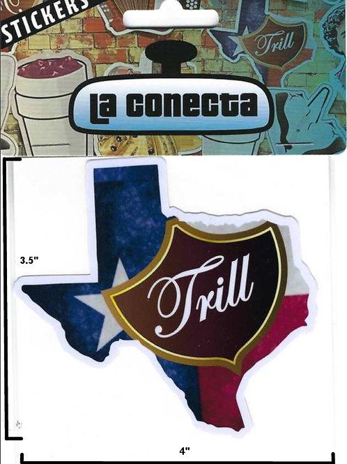 """Texas Trill"" Sticker"