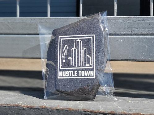 """Hustle Town"" NANO-RPF Face Shield"