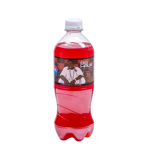 Exotic Pop Big Hawk Fruit Punch Soda