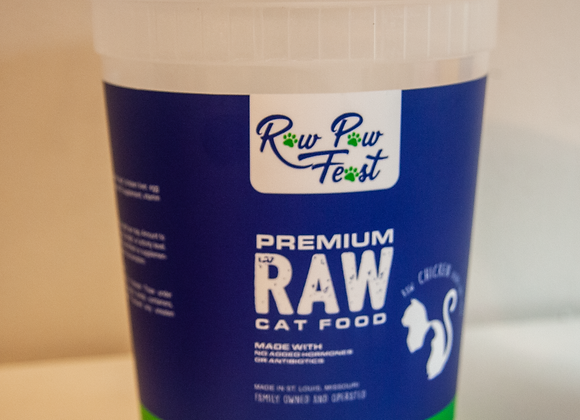 Premium Fresh Cat Food - Chicken (32 oz)
