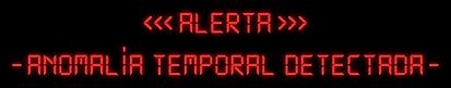 Alerta - Anomalía Temporal Detectada