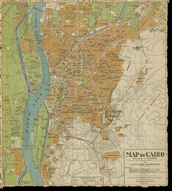 Mapa de El Cairo