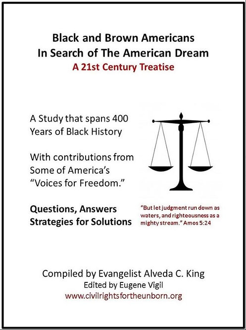 Black and Brown Americans In Search of the American Dream