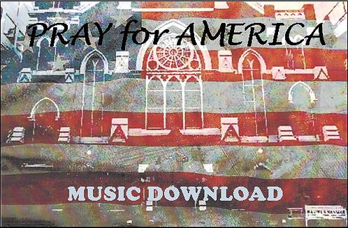 Pray for America Music Download Card