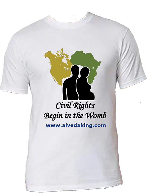 Men's T-Shirt - Civil Rights Begin in the Womb