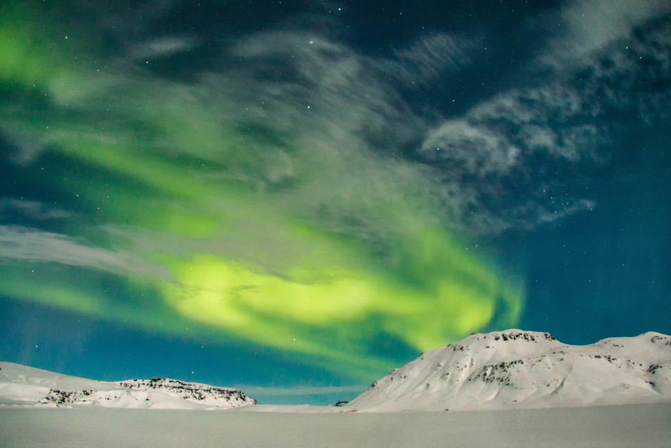 PDI - Aurora on Ice by Chelle McGaughey (8 marks)