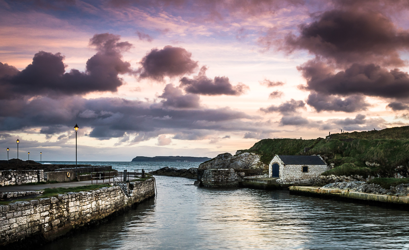 COLOUR - Ballintoy by Michael Mulholland (8 marks)
