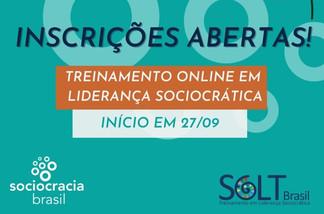 TREINAMENTO EM LIDERANÇA SOCIOCRÁTICA | ONLINE