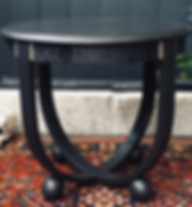 Malphor Refinished Vintage Side Table.pn