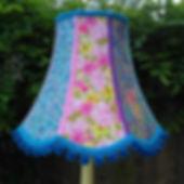 Crazy Cat Vintage Fabric Lampshade