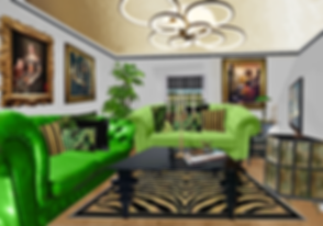 Upstyled Living Room from the House of Upcycling