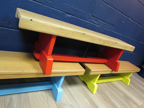 Super Bright Gym Benches