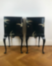 Pheasant Pluckers Wife Bedside Cabinets