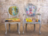 Tessa Jane Designs Upcycled Fabric Chairs