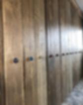 Raw Home Reclaimed Oak Door Fitted Wardr