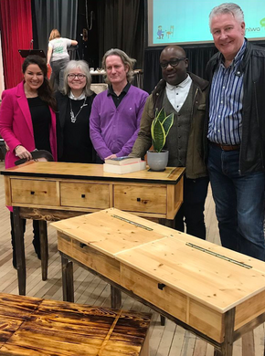 Judging at the London Upcycling Show 2018