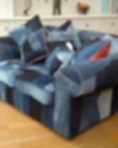 Old Bag Designs Denim Sofa Side View.png