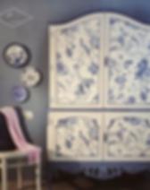 Ragdol Design Studio Refinished Cabinet.